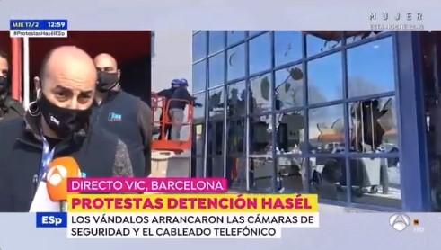 SME A ANTENA 3 DENUNCIEM ELS ATACS DE VIC