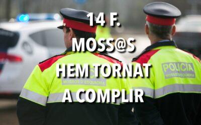 14 F.  MOSS@S HEM TORNAT A COMPLIR.                    L'ADMINISTRACIÓ, NO POT DIR EL MATEIX!