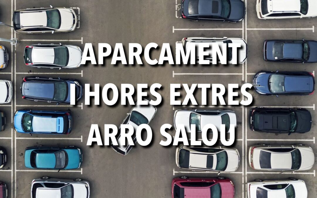 APARCAMENT I HORES EXTRES ARRO SALOU