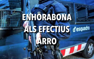 ENHORABONA  ALS  EFECTIUS  ARRO